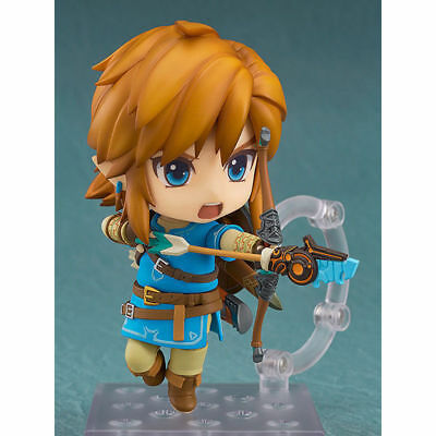 The Legend of Zelda Link Breath of The Wild Nendoroid 733# PVC Figure New In Box
