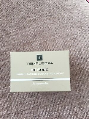 TempleSpa Be Gone Kind-hearted Cleansing Crème RRP £20 Brand New In Box 150ml