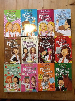 Malory Towers books by Enid Blyton - set of 12 books