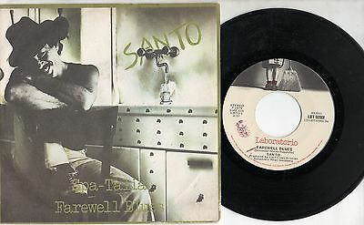 SANTO  disco 45 giri MADE in ITALY 1979 SPA TALIA  + FAREWELL BLUES