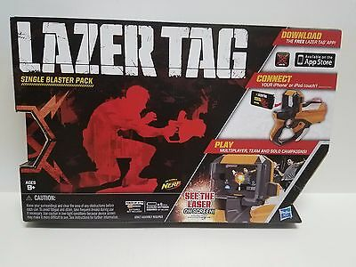 Hasbro Lazer Tag Live Action Laser Combat White Single Blaster Pack