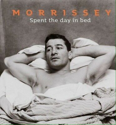 "Morrissey Spent The Day In Bed Limited Edition 7"" Clear Vinyl"
