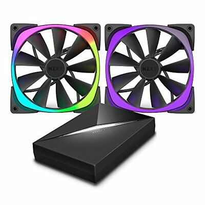 NZXT Aer RGB & HUE+ Computer case Fan - computer cooling components (Computer c