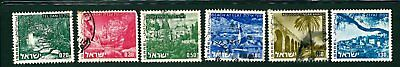 Israel landscapes towns airmail stamps