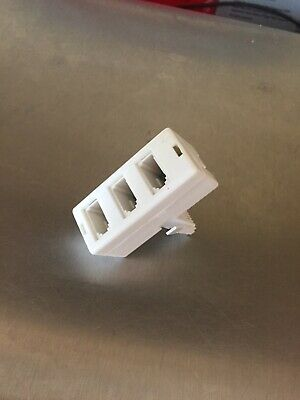Bt Telephone 3 Way Triple Adaptor Spliter X1