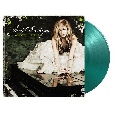 Avril Lavigne Goodbye Lullaby Limited Edition Transparent Green Vinyl LP