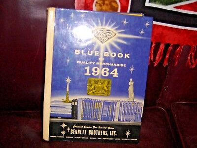 Vintage 1964 Bennett Brothers Blue Book of Merchandise 794 Pages - 34 Categories