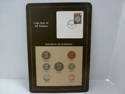 Coin Sets of All Nations : Bailiwick of Guernsey 1979-1984