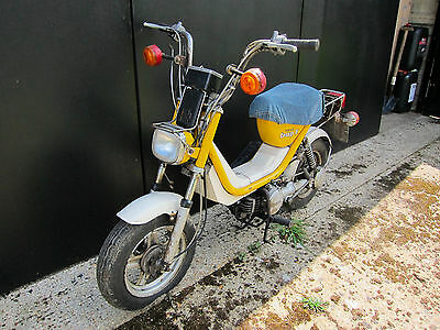 Two Yamaha Bop Scooters 50cc moped