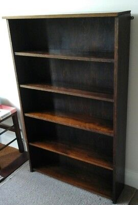 Vintage Oak Bookcase in Fair Used Condition