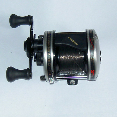 Abu Ambassaduer 5501-C3 Ultra Cast  Multiplier Reel. left hand wind