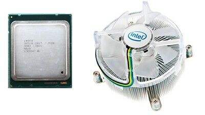 Intel Core i7-3930K 3.20GHz 6 Core 12MB CPU LGA2011 SR0KY + E94315-001 Fan