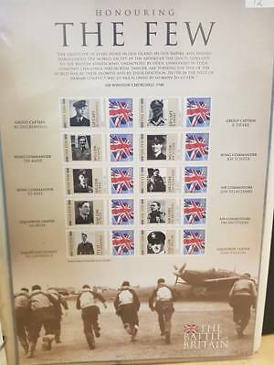 CC ~ The Battle of Britain ~ Mint Stamp Sheet ~ Churchill ~ Honouring The Few ~