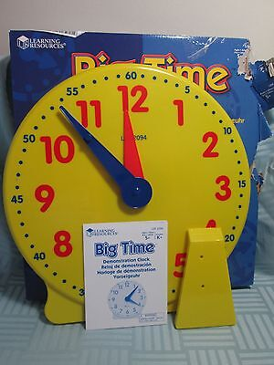 Learning Resources Big Time Student Demonstration Clock G4