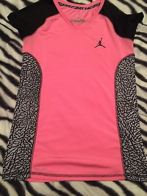 Jordan Girls Drifit Shirt