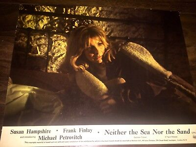 Neither the Sea nor the Sand 1972 Tigon Horror UK Lobby Card Set Quad poster art