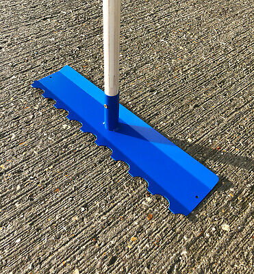 Concrete Rake - Placer Multi Dual Use Tool Tamper Spreader Bull Float