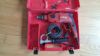 """hilti hammer drill 3/8"""" Corded - used - works fine - aftermarket handle"""