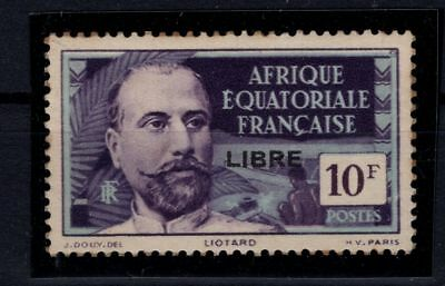 P36552/ Aef French Equatorial Africa – Sg # 142B Neuf * / Mint Mh 175 €