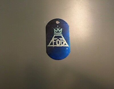 FALL OUT BOY (B) - Pet Dog Tag Necklace Pendant Military