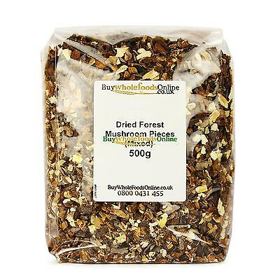 Dried Forest Mushroom Pieces (Mixed) 500g