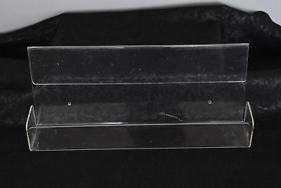 Clear Literature Catalog Counter Wall Pamphlet Display Clear Lucite Holder