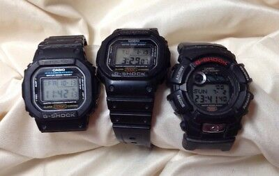 Lot Of 3 Casio G-Shock Watches