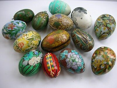 Selection of Decorative Eggs