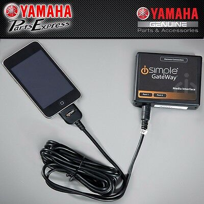 NEW YAMAHA iSIMPLE GATEWAY iPOD ADAPTOR ROYAL STAR VENTURE 1BM-H81C0-T2-00