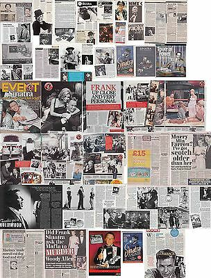 FRANK SINATRA : CUTTINGS COLLECTION -magazine articles-