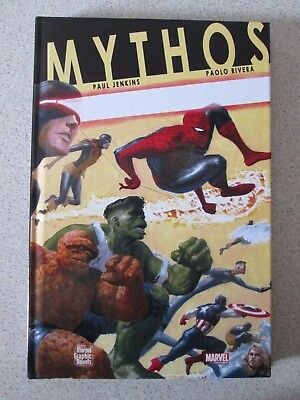 Mythos Marvel Graphic Novels Cartonato Panini Nuovo! --- Spider Man Thor Hulk
