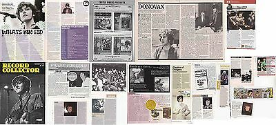 DONOVAN : CUTTINGS COLLECTION -interviews-