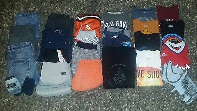 Lot of Boys Clothes 25 pcs. TARGET, Gap, VOLCOM, Hurley size 8/M