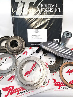 45RFE Master Rebuild Kit 2006 Up 4 WD only Spin On Pistons Frictions Steels