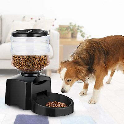 Automatic Pet Feeder - for Cat and Dog with Digital LCD and Voice Recorder 5.5 L