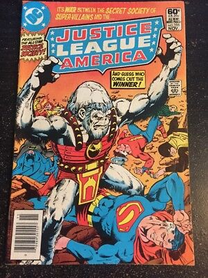 Justice League America#196 Awesome Condition 5.5(1981) Perez Art!!