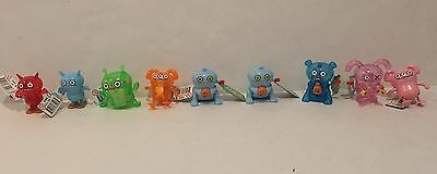 Ugly Doll Windup Toy Lot Of 9 Nwt