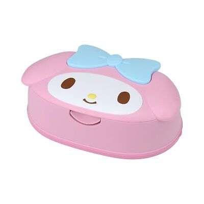 My melody Wet Tissue Case with wet tissue SANRIO KAWAII from JAPAN