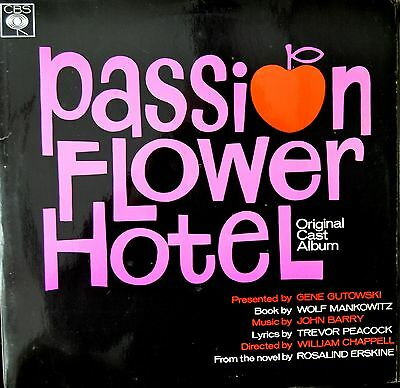 PASSION FLOWER HOTEL John Barry VINYL