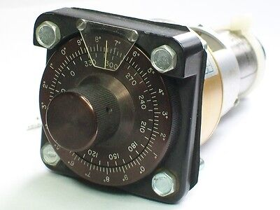 BOWMAR Heading Selector Synchro, Dual Speed drive, AVIONIC CALIBRATION