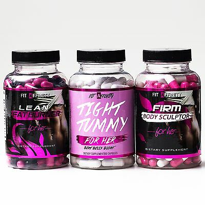 FIT AFFINITY Weight Loss Bundle, Lean Fat Burner, Tight Tummy, Firm Body Sculpt