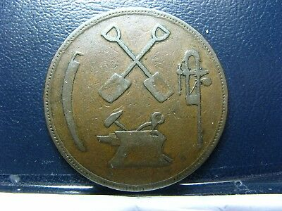 LC-15A1 T.S. Brown & Co. Montreal token Lower Bas Canada Quebec Breton 561