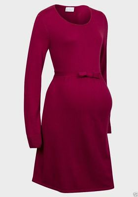 Yessica Warm Knitted Maternity Jumper Dress Tunic S,M,L,XL 8-22 New C&A
