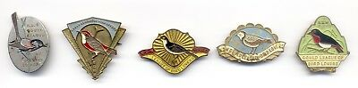Gould League NSW badge collection - 5 badges from the 1940s