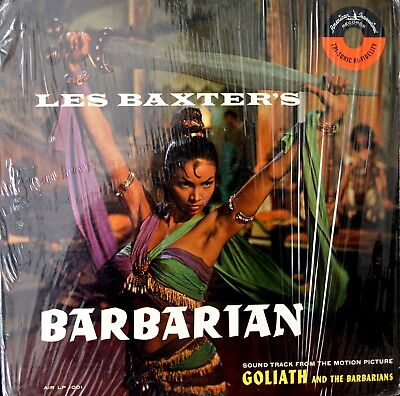 GOLIATH AND THE BARBARIAN Les Baxter VINYL