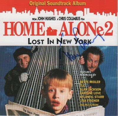 "Tim Curry Autogramm signed CD Booklet ""Soundtrack - Home Alone 2"""