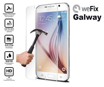 Samsung galaxy S6 Premium Tempered Glass Screen Protector 9H 0.33mm 2.5D