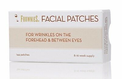 UK Stock Frownies Forehead & Eyes 144  BEST VALUE with FREE Proaura Vit C sample