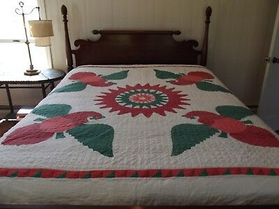Beautiful Quilt With Eagles