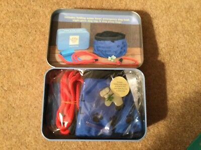 Apples to Pears Dog travel  gift in a tin.